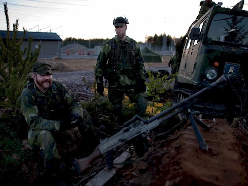 Foto: Sgt Daniel Klintholm/Combat Camera/Försvarsmakten
