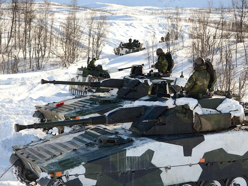 Foto: Niklas Englund/Försvarsmakten