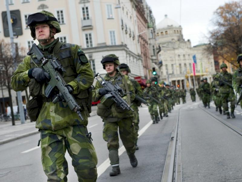 Foto: Niklas Ehlén/Combat Camera/Försvarsmakten