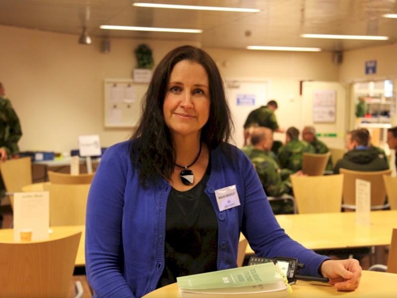 Foto: Elisabeth Forsman/Försvarsmakten