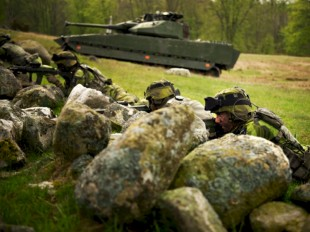 Foto: Nicklas Gustafsson/Combat Camera/Försvarsmakten