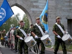 Foto: Veteranmarschen, SVF