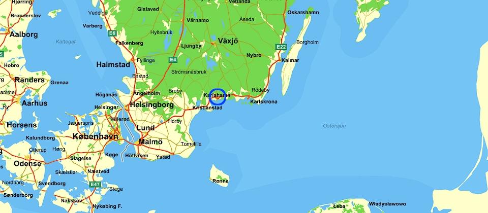 karlshamn karta Svårt att förstå situationen även i Karlshamn – Semper Miles karlshamn karta